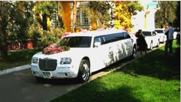 limo 10 seats wedding 1