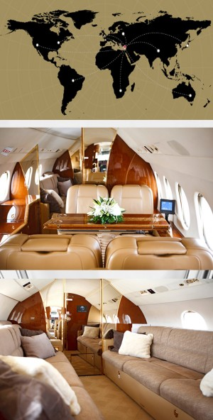 private jet cyprus dassault falcon 7x inside