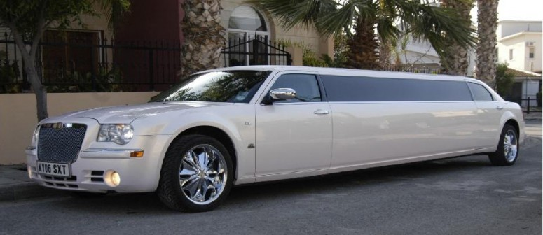 w limo chrysler 10seats